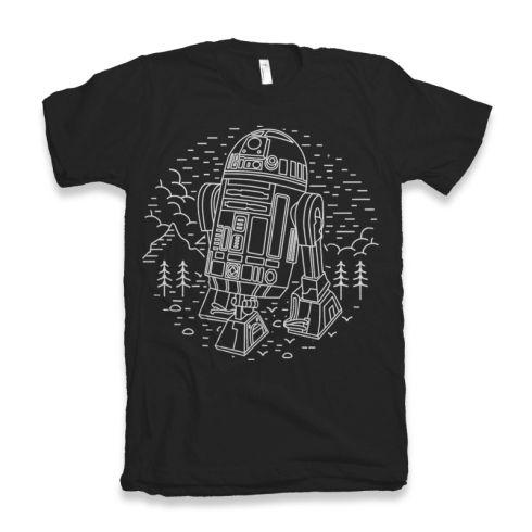 R2D2 - T-shirt dizajn