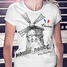 Moulin Rouge T-shirt dizajn