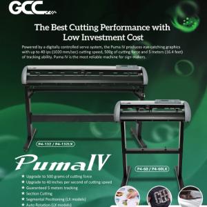 GCC Puma IV rezač folije