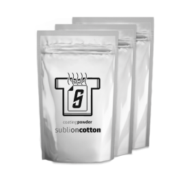 Sublimation On Cotton - Coating Powder