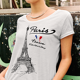Urban T-shirt Predložak