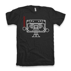 Dark Cassette T-shirt dizajn