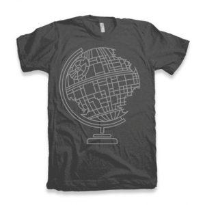 Death Globe T-shirt dizajn