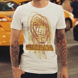 Nirvana T-shirt dizajn