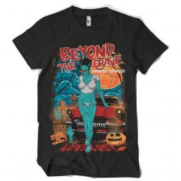 Beyond the grave - T-shirt print design