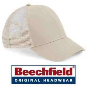 Beechfield Original - Organic Cotton 6 Panel Trucker