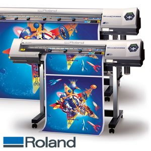 Roland SP540i - SP300i - Eco Solvent printer