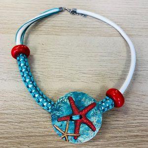 Unikatna ogrlica - Ljetna