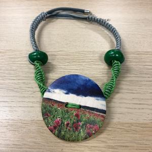 Unikatna ogrlica - Polja snova