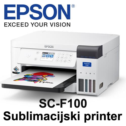 Epson SC F100 - Sublimacijski printer