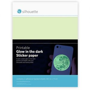 Silhouette - Print folija Glow in the dark sticker
